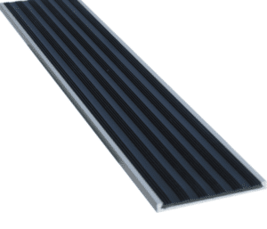 Aluminium flat stair tread