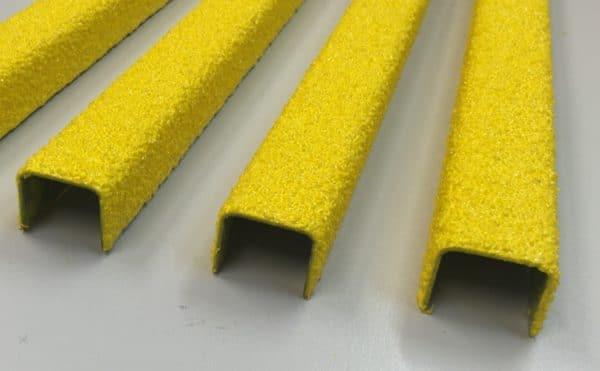 Rectangular anti slip ladder rung covers