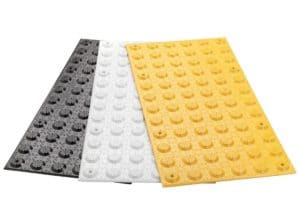 FRP tactile hazard pads
